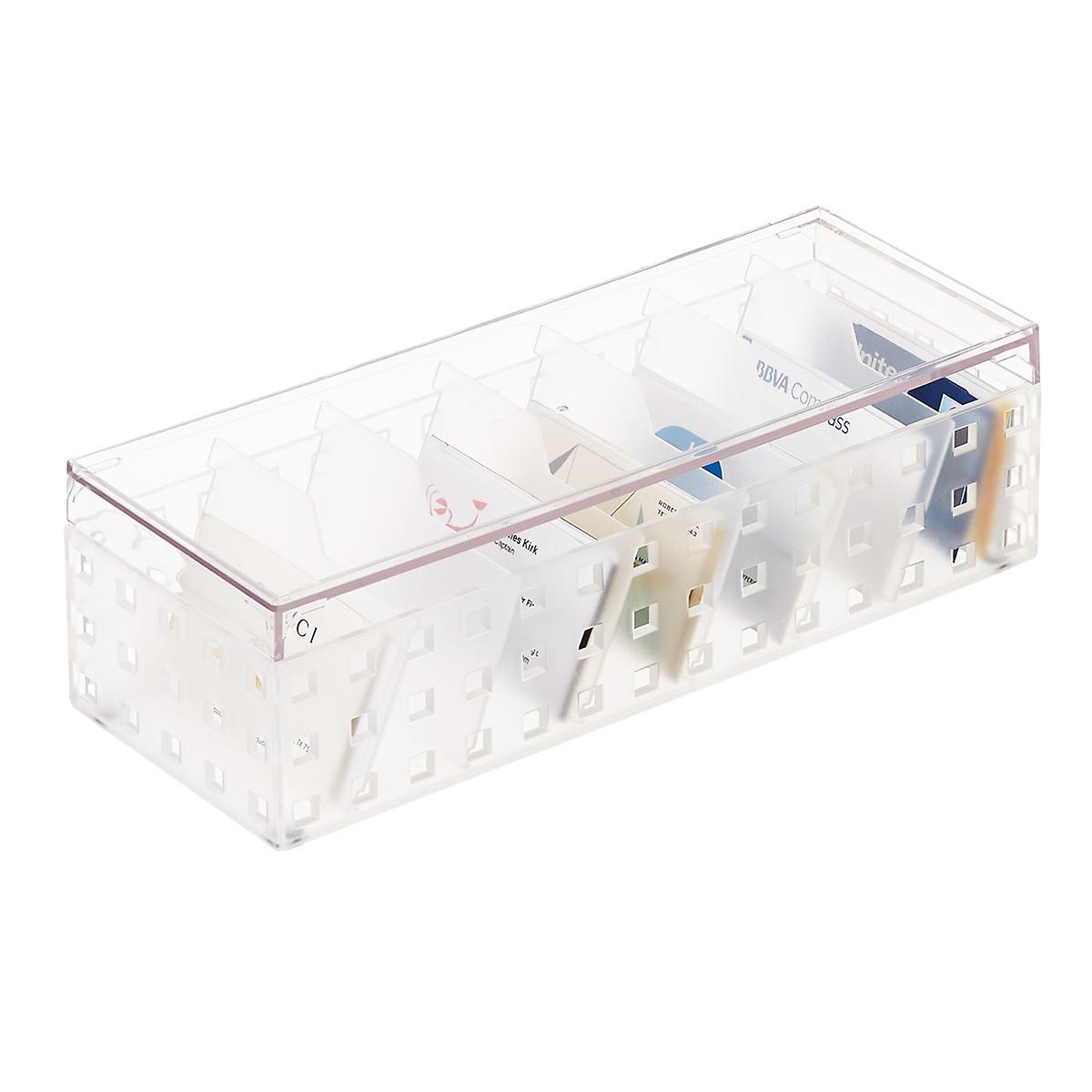 Like It Bricks Business Card File The Container Store