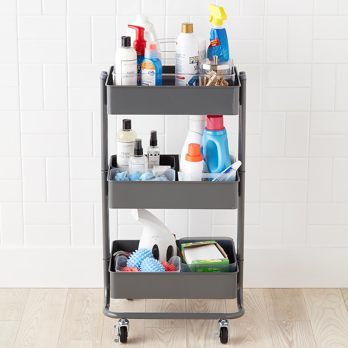 Laundry Cleaning Storage Cart Starter