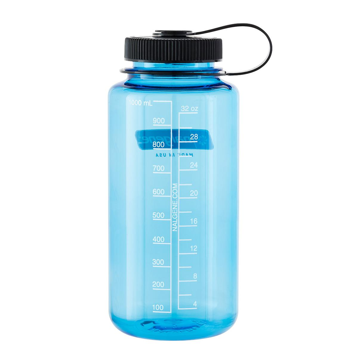 32 oz. Blue Nalgene Leakproof Water Bottle | The Container Store