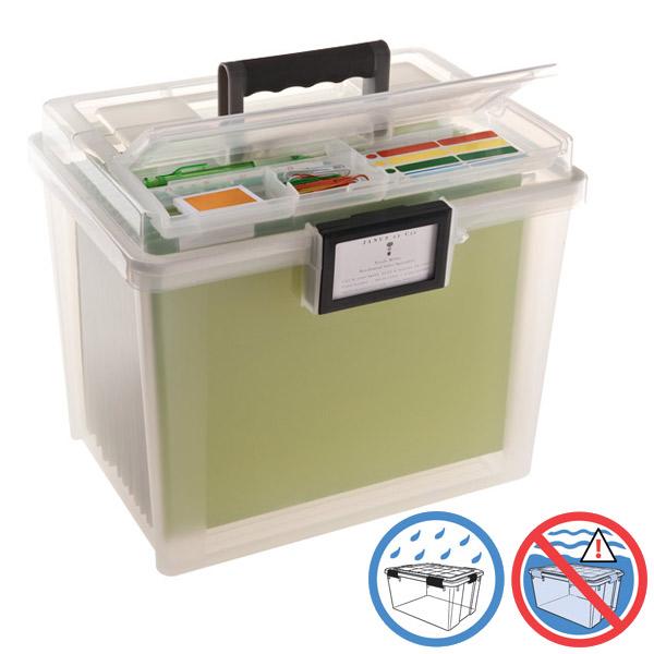 Iris Weather Portable File Box