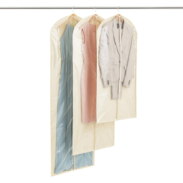 Natural Cottonpeva Single Garment Bags The Container Store