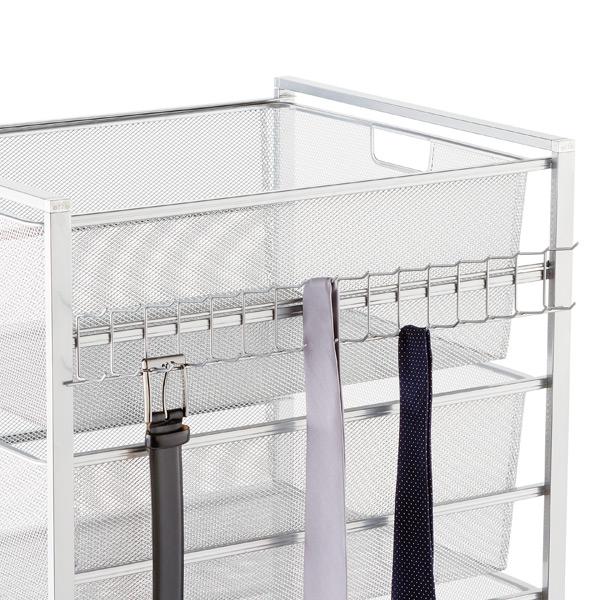 Platinum Elfa Hangmate Belt Tie Rack