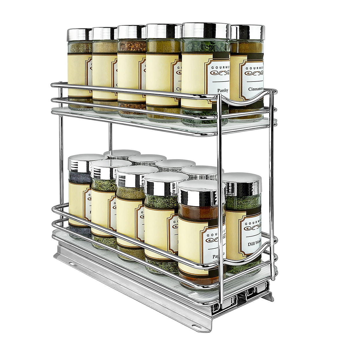 Lynk Professional Double Spice Racks The Container Store