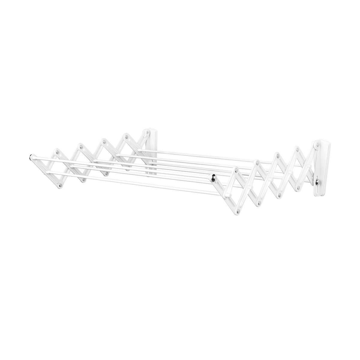 Polder Wall Mounted Accordion Drying Rack The Container Store