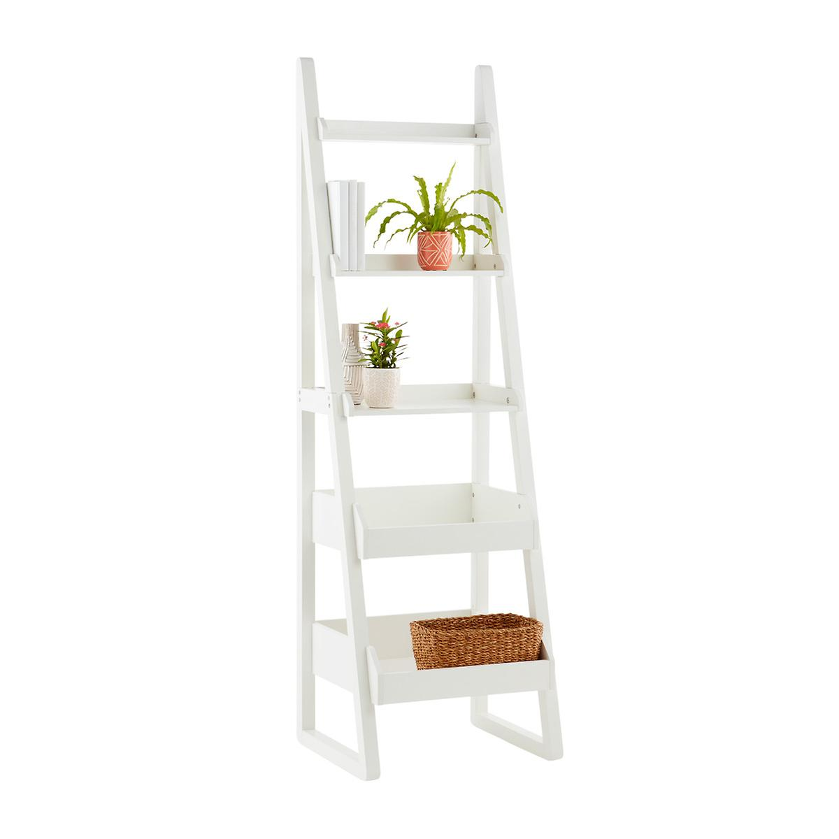 brand new da339 6b4d6 White Encore Narrow Bookshelf