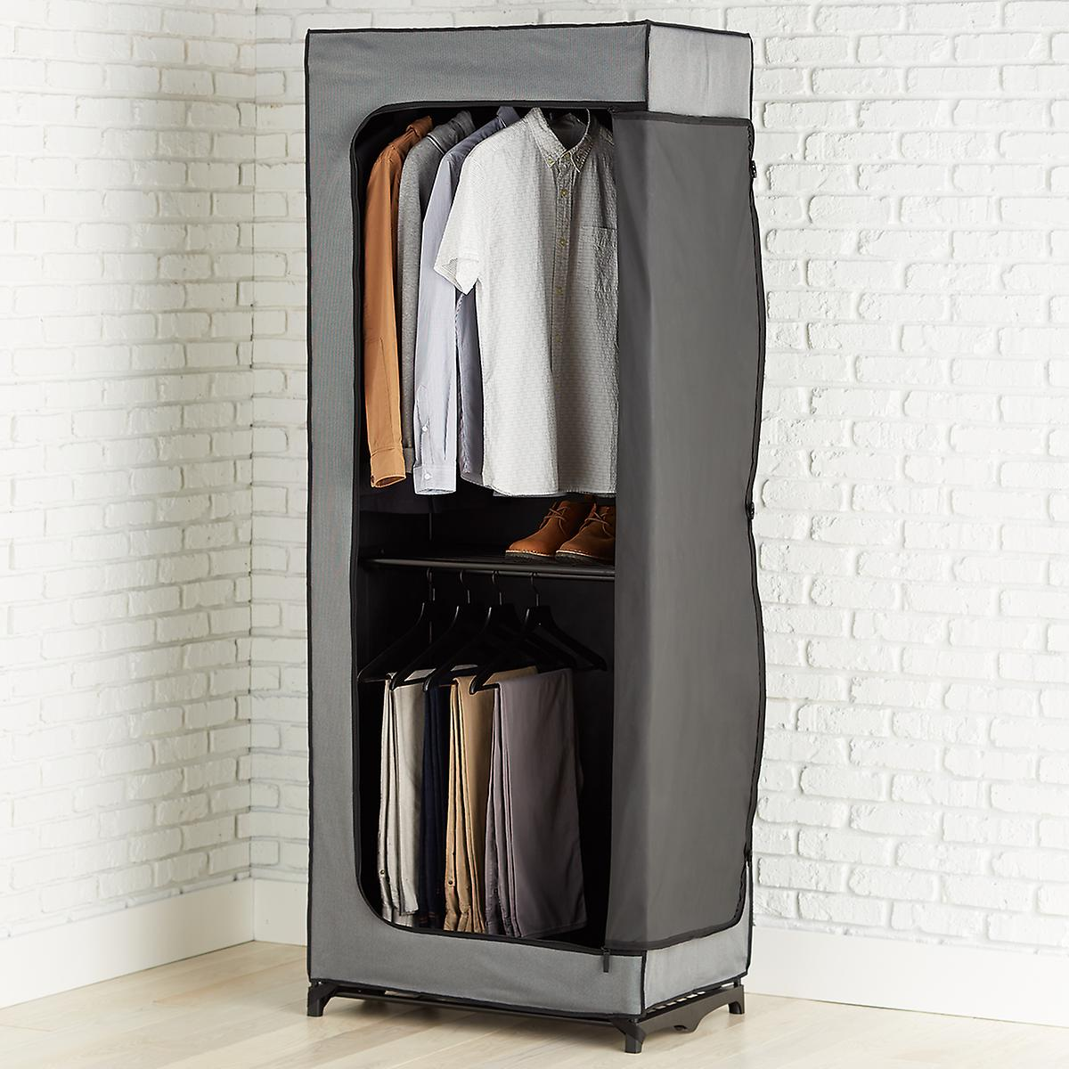 Double Hang Clothes Closet The Container Store
