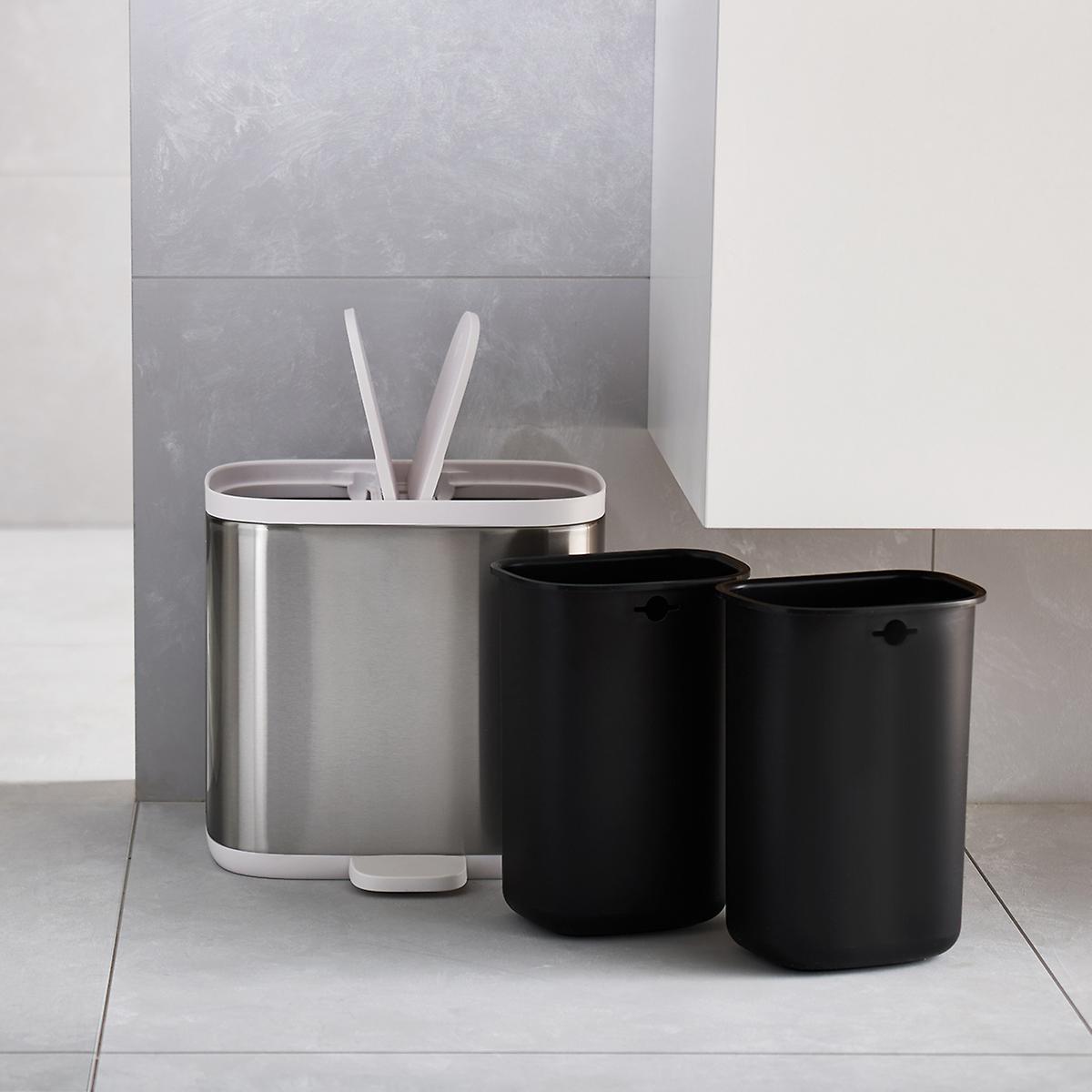 Joseph Split Recycler Trash Can