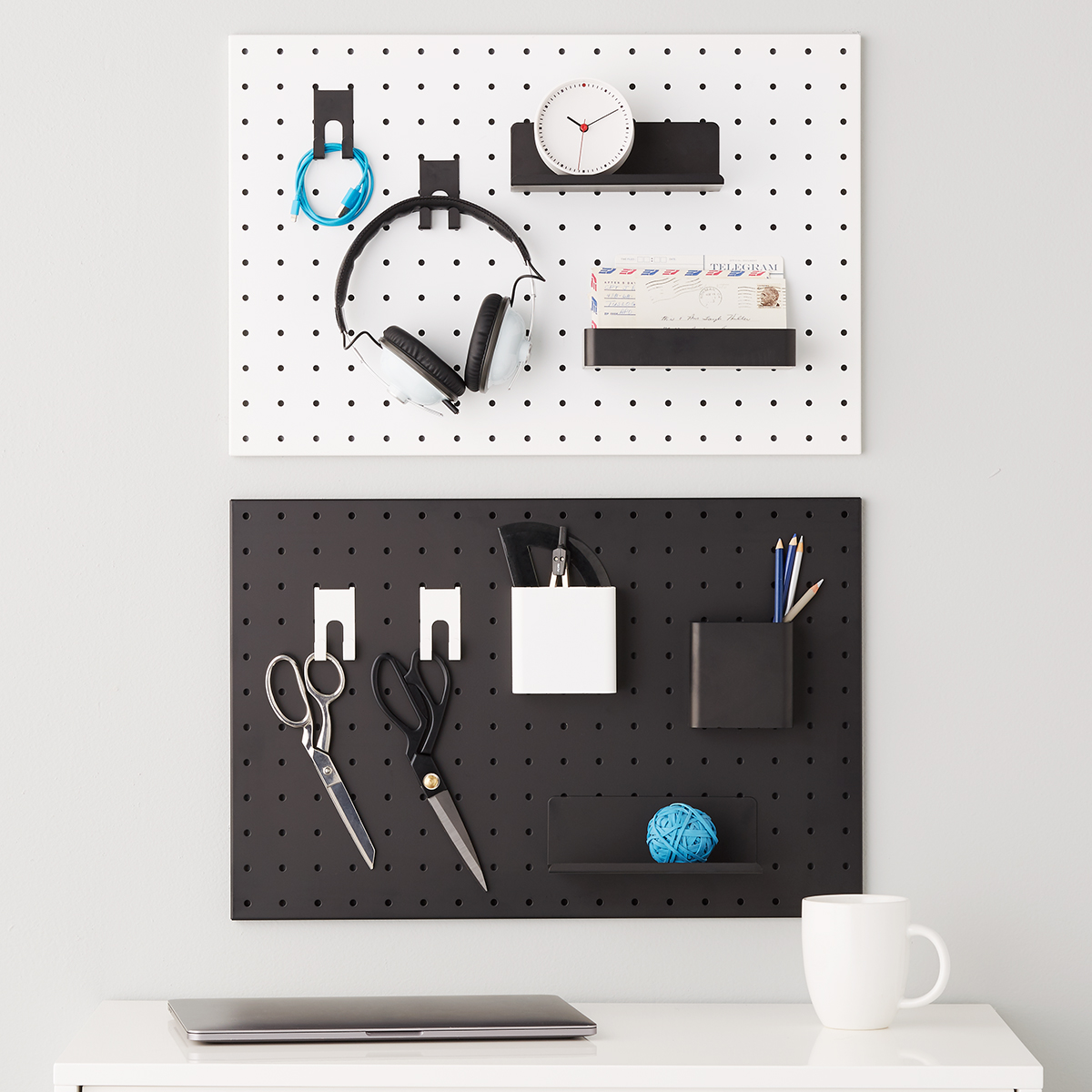 Bello Pegboard System Components The Container Store