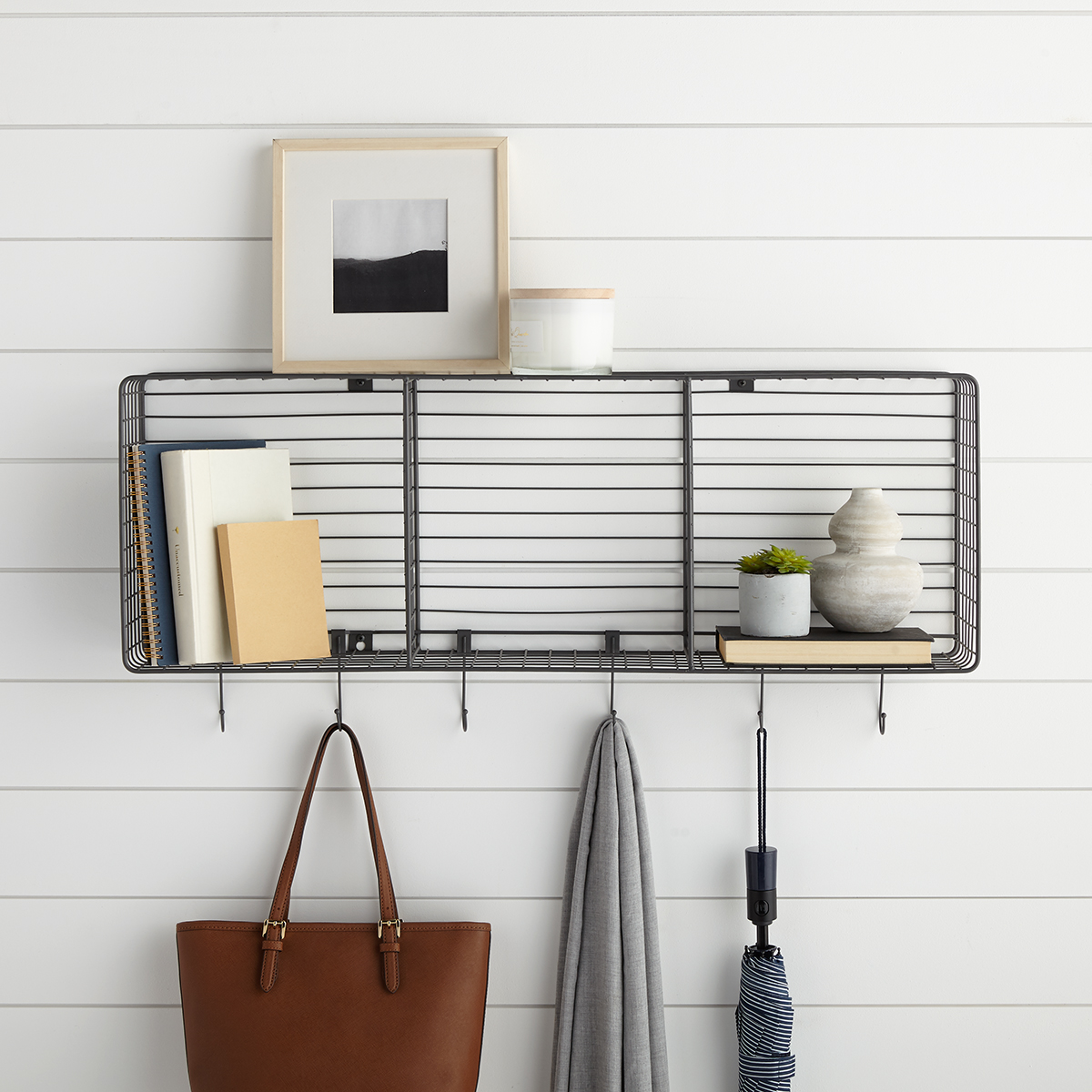 Wall Mounted Wire Triple Cube