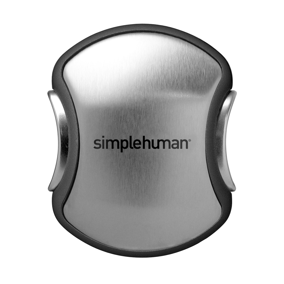 simplehuman Quick Load Paper Towel Holder Black Stainless Steel