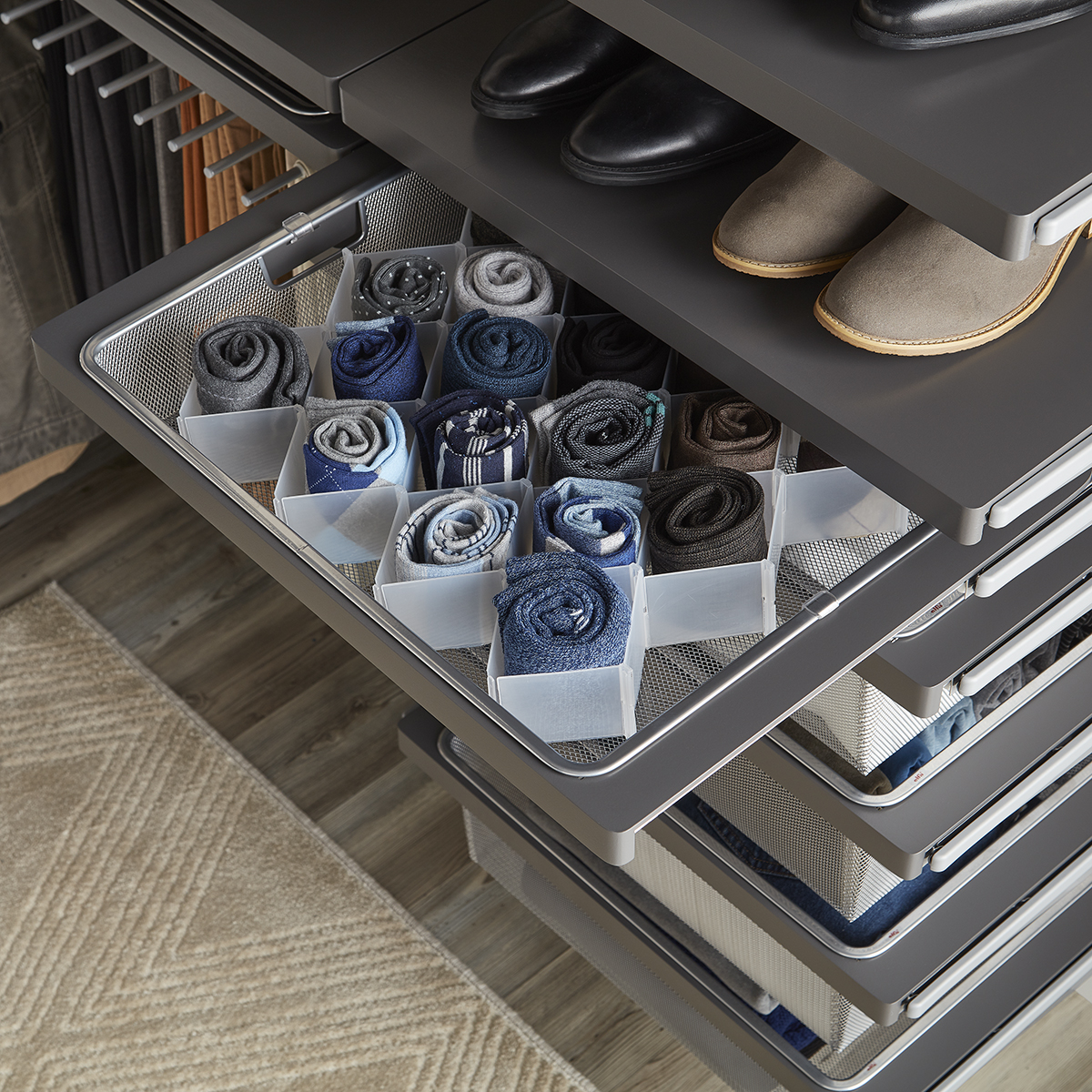 32 Compartment Drawer Organizer The Container Store