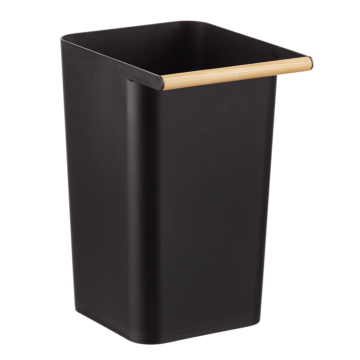 Black Como Wastebasket The Container Store