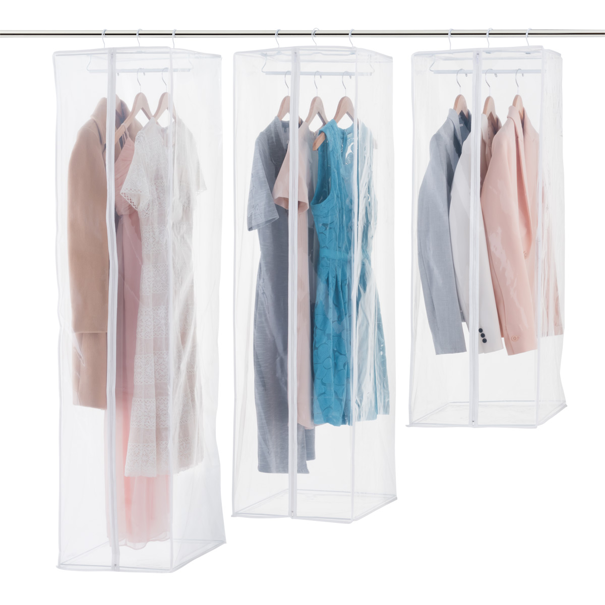 Newest Garment Bag Home Closet Storage Protect Dust Cover Travel Hanging Bag