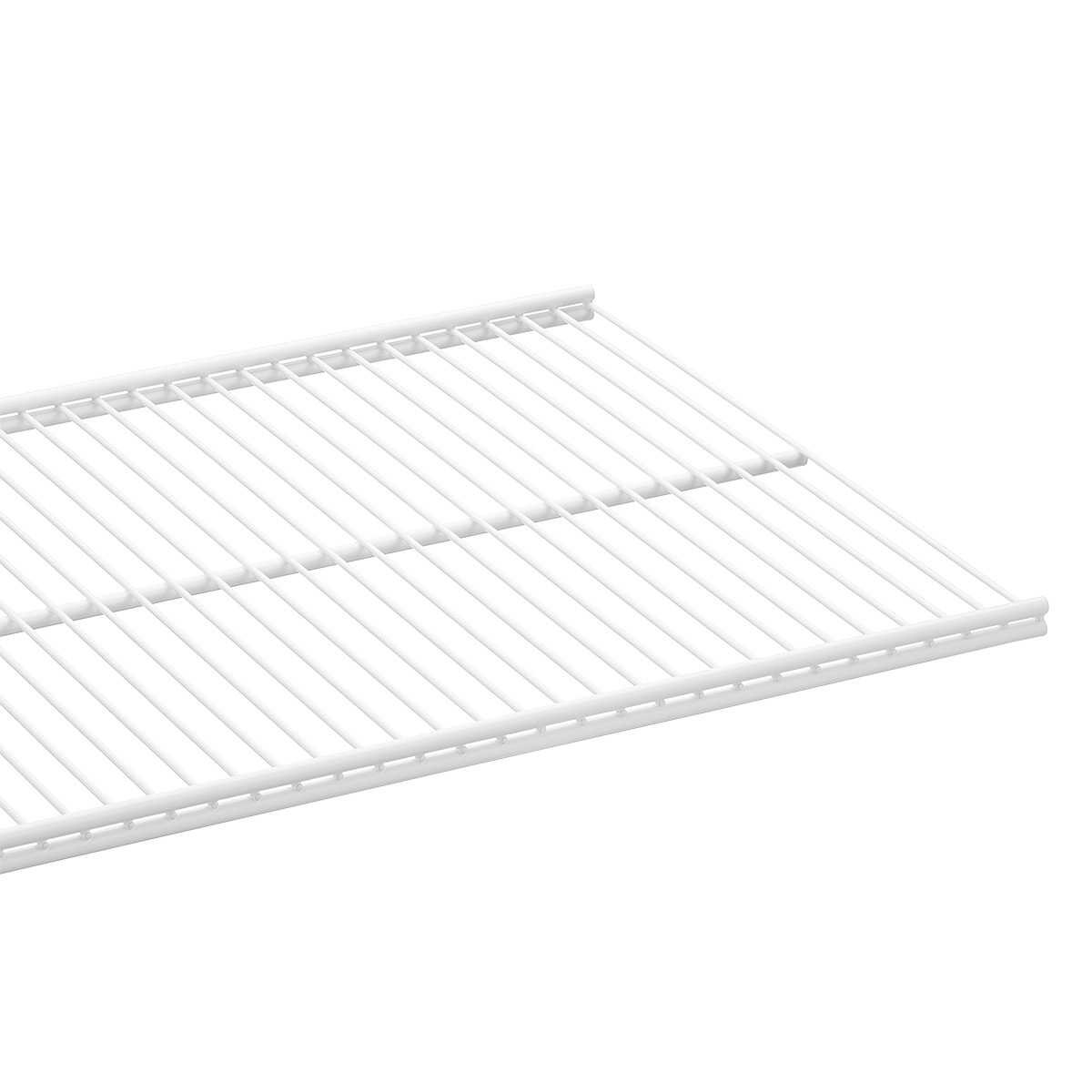 Wire Shelves White Elfa Ventilated Wire Shelves The Container Store