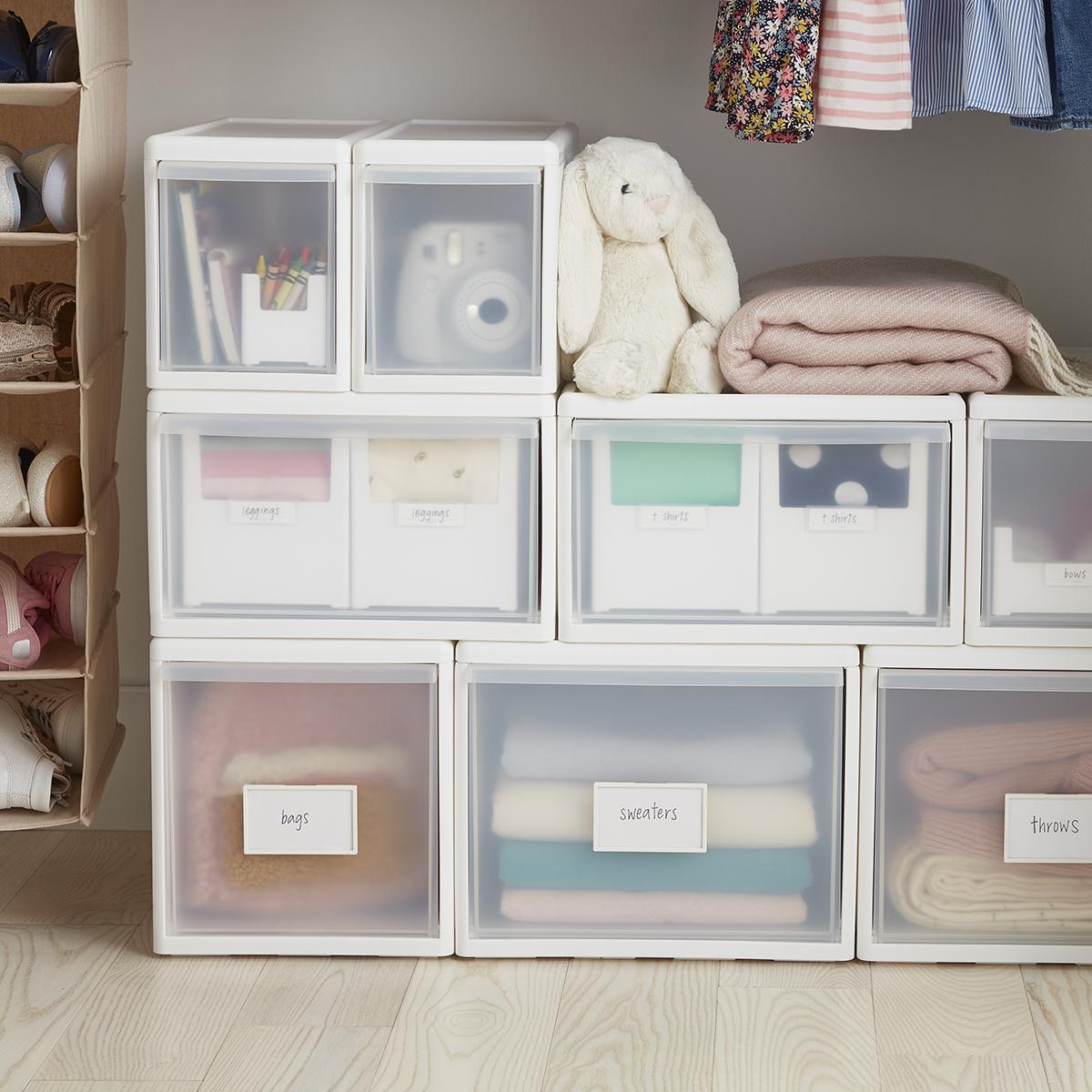 Blush Locker Style 8 Mesh Shelf Stackable