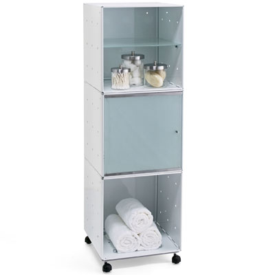 Cube Storage Enameled QBO Steel Cube Storage Tower The Container