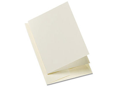 Gift Enclosures w/Envelopes Ivory Pkg/8