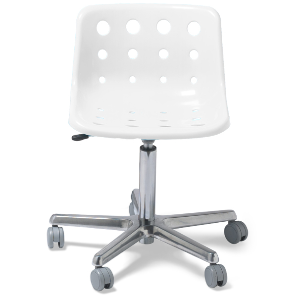 Polo Desk Chair Clear