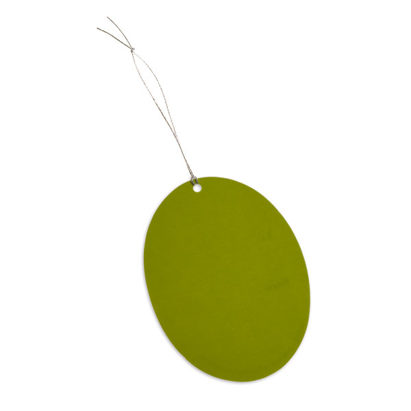 Oval Gift Tags Lime Pkg/5