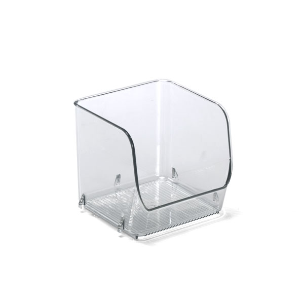Linus™ Small Stacking Bin Clear