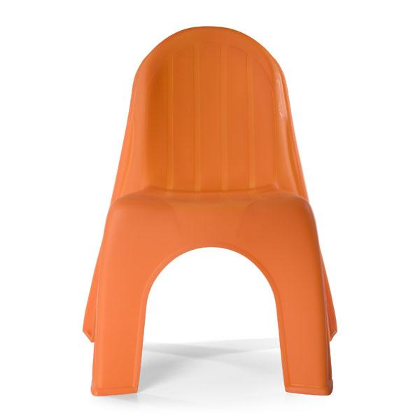Superbe ... Kidu0027s Chair Orange ...