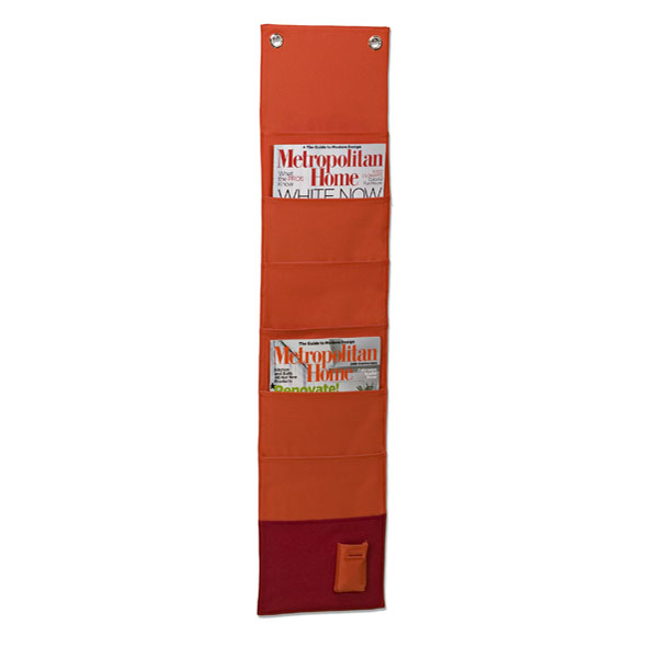 reisenthel® Fabric Magazine Organizer Orange/Red
