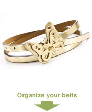 organize your belts