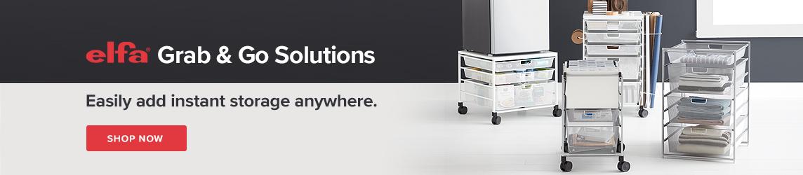 Elfa Grab & Go Solutions