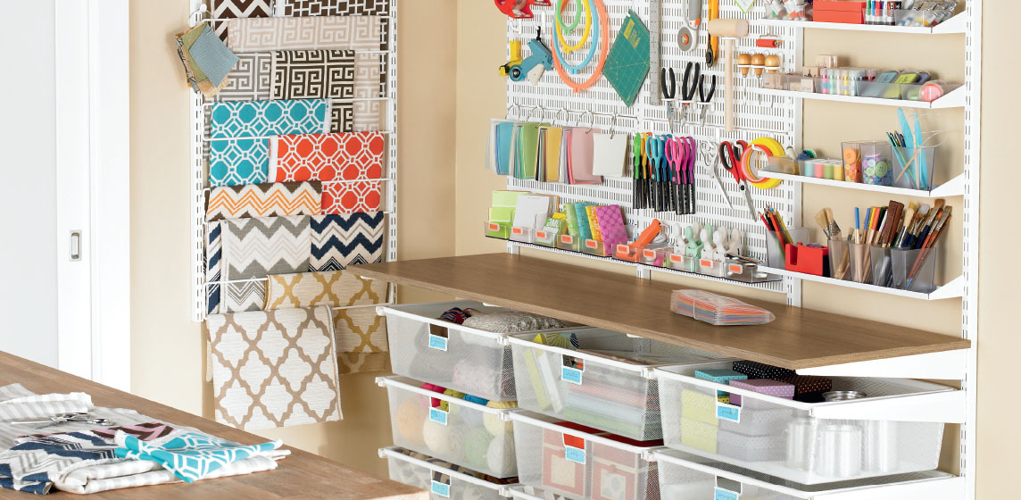 Craft Shelving Ideas - Design Ideas for Craft Closets