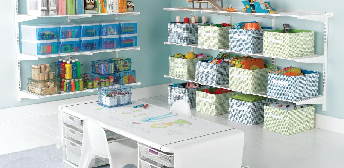 Elfa Kid U0026 Playroom Inspiration