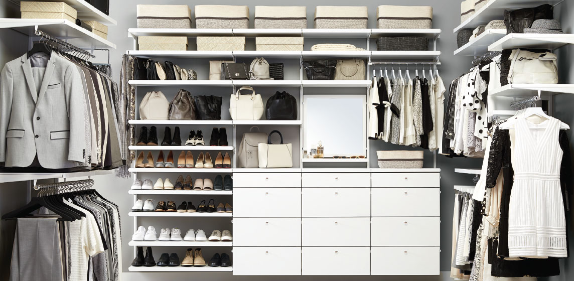 Elfa Walk In Closet Inspiration